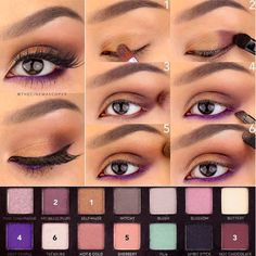 That swipe of purple on the lower lash line adds a unique twist to this otherwise-neutral eye. I love how Kate of @TheCinemaScoper posts pictorials with a step-by-step look at her process. It makes it so simple to recreate the look at home.