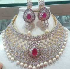Buy Multicolour American Diamond Choker Online