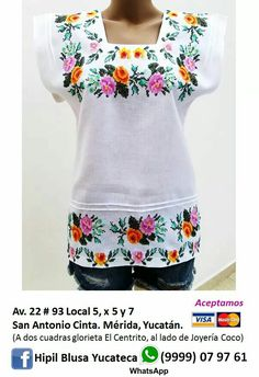 Regional, Sweatshirts, Sweaters, Fashion, Embroidered Shirts, Embroidered Clothes, Cute Blouses, Embroidery Stitches, Roses