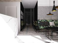 PC4 I blaq architects North House Hotel,  Hel, Poland  #hotel #reception #marble