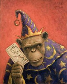 Mark Bryan... reminds me of Oz Flying Monkey