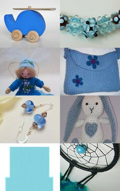Blue Skies by Bonnie Sernesky on Etsy--Pinned with TreasuryPin.com
