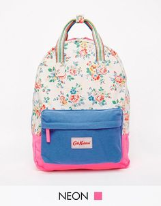 Cath Kidston   Cath Kidston Small Cotton Backpack at ASOS