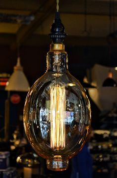 "Bulbrite Edison Bulb - 7"" Grand Nostalgic Thread"