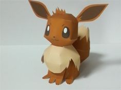 Cute pokemon paper craft. This is my dog!
