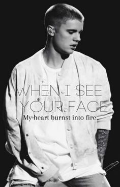 When i see your face... JB Fan Fiction #wattpad #fanfiction