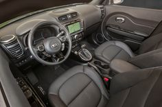 2016 Kia Soul Interior View
