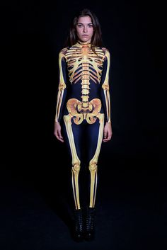 Costume squelette doré, Lingerie gothique, Lingerie Burlesque, Lingerie noire, Lingerie Fetish, Lingerie BDSM, Steampunk Lingerie, Bondage