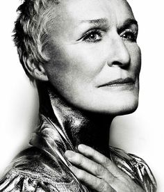 Glenn Close at a shooting for the magazine The Cut.