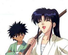 Yahiko and Kaoru        ~Rurouni Kenshin