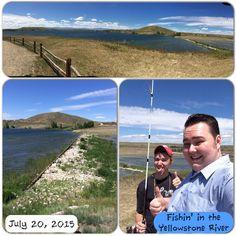 Fishin' Yellowstone River