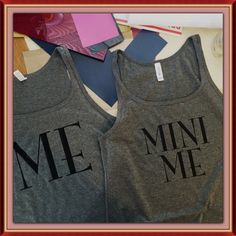 Me and Mini Me shirt set by emilyolivecollection. Explore more products on http://emilyolivecollection.etsy.com