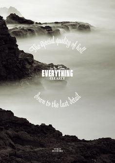 Typographically molded quotes - March #06 | Yukio Mishima