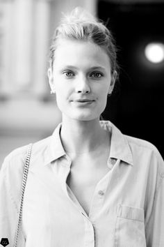 Constance Jablonski by Claire Guillon - CGstreetstyle Spring Summer 2016, Style Me, Fashion Show, Street Style, People, Paris Street, French Style, Claire, Collection