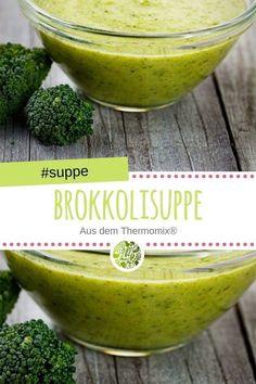 In diesem Rezept zeigen wir Euch, wie man leckere Brokkolisuppe aus dem Thermomix