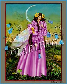 """Lavender Faery"" © Ladybug Creations"