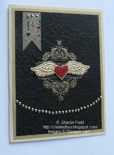Another Harley Inspired card... reminiscent of a gold wing 4 circa 1978, LOL!  Stamp set:  Affection Collection