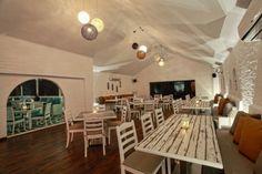 Main Dining Mediterranean restaurant interior concept