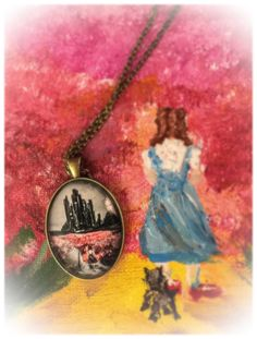 Shop and Share!! My Pendant Collection is available on #Etsy https://www.etsy.com/shop/BridgetMarnet wizard of Oz