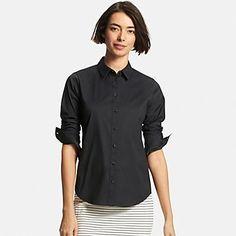 Women's Supima(R) Cotton Stretch Dress Shirt