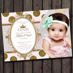 Customized Birthday Invitation Templates 1st Invitations Card Design Cards