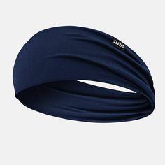 Navy Double-sided Wide Headband