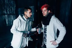 the boys.  blurryface fairly local music video twenty one pilots Josh Dun and Tyler Joseph