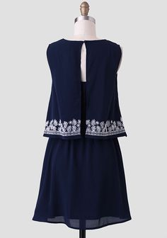 Down In The Valley Embroidered Dress