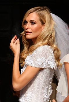 Poppy Delevigne #wedding