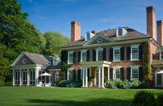 Neo-Georgian house by Mark Finlay, Darien, CT