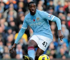 Yaya Toure former midfielder FC Barcelona now playing for Manchester City and the Ivory Coast National Football Team Best Football Players Ever, Good Soccer Players, World Football, Football Soccer, Manchester City Wallpaper, Mary Lou Retton, Most Popular Sports, National Football Teams