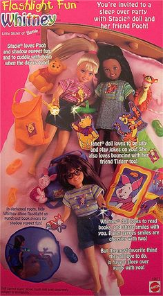 Flashlight Fun Whitney was one of those dolls that I desperately wanted as a kid…