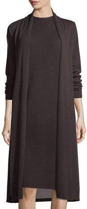Shop Now - >  https://api.shopstyle.com/action/apiVisitRetailer?id=612335787&pid=uid6996-25233114-59 Eileen Fisher Washable Wool Kimono Duster Cardigan, Plus Size  ...