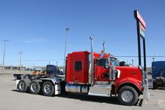 New 2013 KENWORTH W900B 62 Tridrive For Sale | FORT ST. JOHN BC