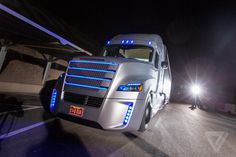 This Is The First Road-Legal Big Rig That Can Drive Itself [Self-Driving Vehicles: http://futuristicnews.com/tag/self-driving/]