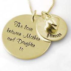 The Love between Mother and Daughter is... - Goldfill - MamaKado: alles mooi voor moeders