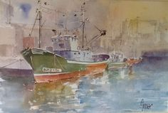 Barco verde Septiembre