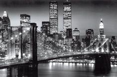 New York Manhattan Black - Berenholtz Poster at AllPosters.com