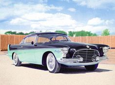 1950s BEAUTIFUL YEARS - Chrysler Flight Sweep II Concept Car '1955