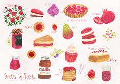 foods in red