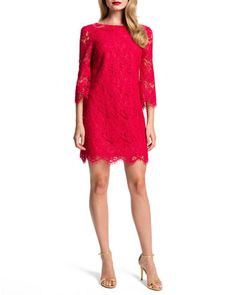 Trinity+Lace+Bow-Back+Shift+Dress+by+Cynthia+Steffe+at+Neiman+Marcus.
