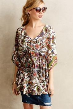 Anthropologie Luisa Beach Cover-Up #anthrofave #anthropologie