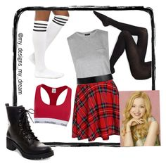 """""""Dove Cameron music video inspired"""" by my-designs-my-dream ❤ liked on Polyvore featuring мода, Calvin Klein, Wolford, Topshop, Madden Girl, Disney и Jil Sander"""