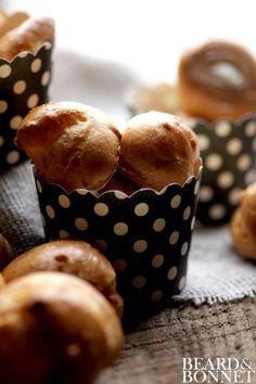 Gluten-Free Vanilla Cream Puffs {Beard and Bonnet} #glutenfree #projectlunchbox