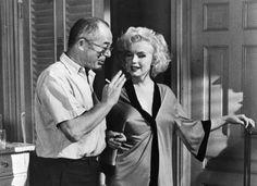 Marilyn with Billy Wilder