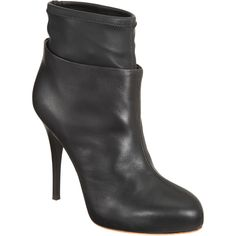 layered ankle boot