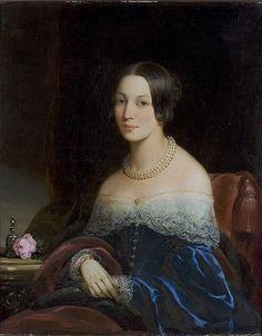 Portrait of Julia Feodorovna Kurakina, 1841 - Christina Robertson