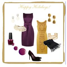 Looking for a party outfit? Check these ideas, have fun and shine!  + Holiday Party Planner