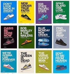 Adiart - music and trabs Adidas Og, Adidas Retro, Vintage Adidas, Adidas Sneakers, Football Casuals, Football Fashion, Casual Art, Adidas Spezial, Football Design