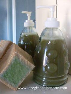 Fare in casa il sapone liquido di Aleppo
